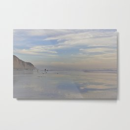 Photography - Misty Reflection at Torrey Beach Metal Print