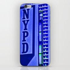 NYPD iPhone & iPod Skin