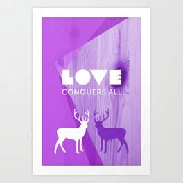 Love Conquers All Art Print