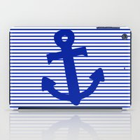 nautical iPad Cases featuring Nautical by The Wellington Boot