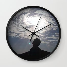 Oh Beautiful You Wall Clock