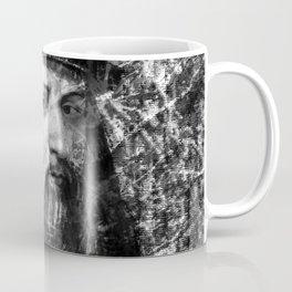 LEONARDO DA VINCI (BLACK & WHITE VERSION) Coffee Mug