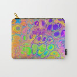 Psychedelic Cells Carry-All Pouch