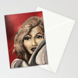 100 Faces Project 3 Marilyn Stationery Cards