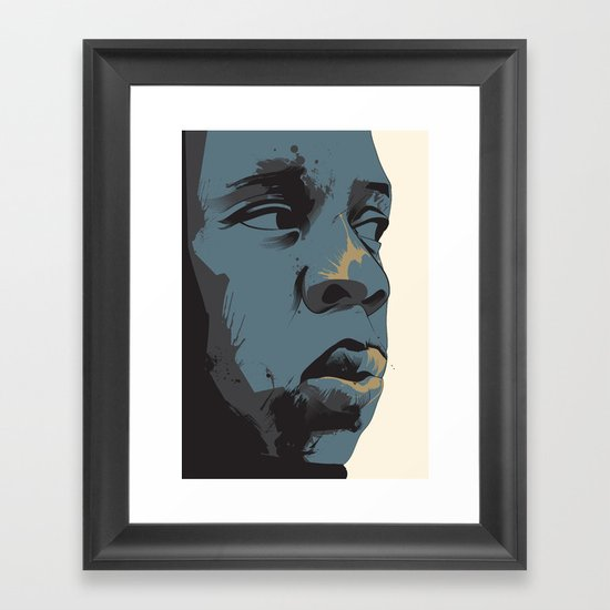 Who Wanna Bet Us Framed Art Print