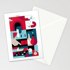 Art Studio Stationery Cards