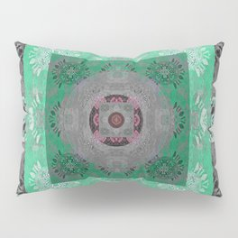 Peace and Resilience Healing Sacred Geometry Mandala Pillow Sham