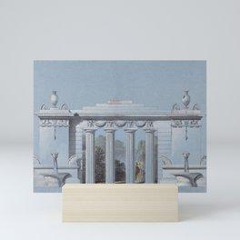 Design for a Park Colonnade by Josef Georg Kornhäusel Mini Art Print
