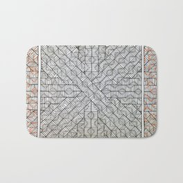 All Boxed In Bath Mat