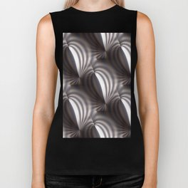 Push and squeeze with misty stripes Biker Tank