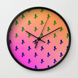 cool patterns and designs Wall Clock