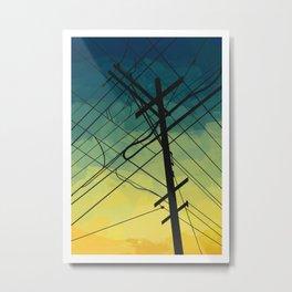 Exchange Metal Print