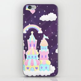 Dreamy Cute Space Castle iPhone Skin