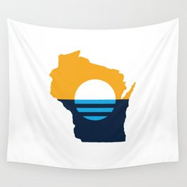 Wisconsin - People's Flag of Milwaukee Wall Tapestry