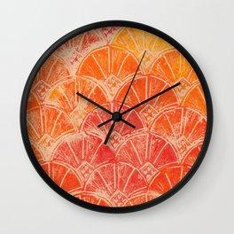 Warm Sun Set Wall Clock