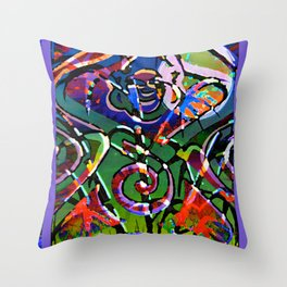 Wildheart Bodhisattva Throw Pillow