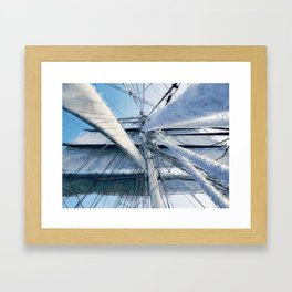 Nautical Sailing Adventure Framed Art Print