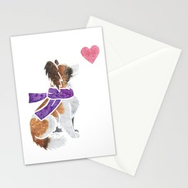 Watercolour Papillon Stationery Cards