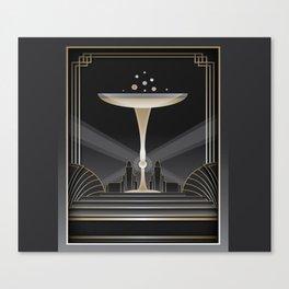 Art deco design VI Canvas Print