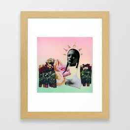 Greenhouse Queen Framed Art Print
