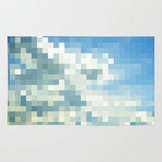 Pixel Clouds Rug