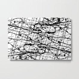 Jackson Pollock Signature Metal Print