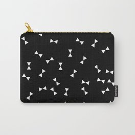 Monochrome bows Carry-All Pouch