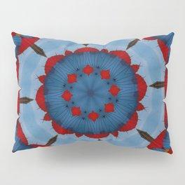 Primary Colours Parasol Kaleidoscope Pillow Sham