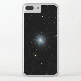 Hercules Cluster. Clear iPhone Case