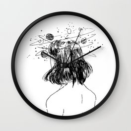 Unexplainable thoughts Wall Clock