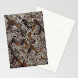 Wood Quilt Stationery Cards