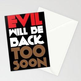 Evil Stationery Cards