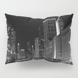 Downtown Chicago Pillow Sham