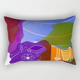 Colorful background Rectangular Pillow