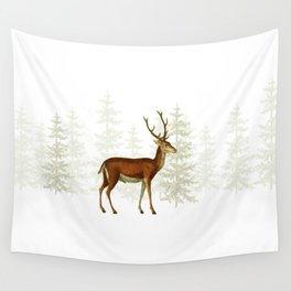 Wandering deer  Wall Tapestry