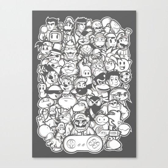 Super 16 bit  Canvas Print