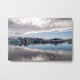 Jökulsárlón Glacier Lagoon Metal Print