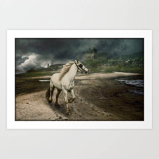 The Gypsy Wanderer Art Print