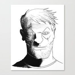 Mr. Jepperd Canvas Print