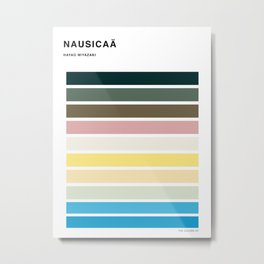 The colors of - Nausicaa Metal Print