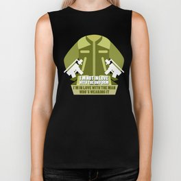 Hunting Men Hunter Hunt Wild Animals Weapons Design Biker Tank