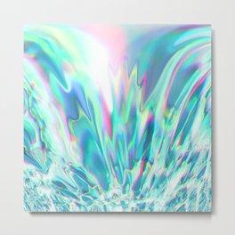 Fluid colors II Metal Print