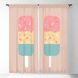 Popsicle (Peach) Blackout Curtain