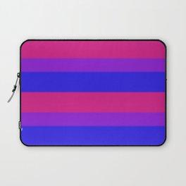 Bisexual Pride Flag v2 Laptop Sleeve