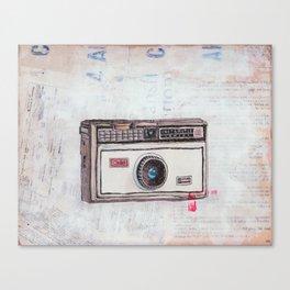 Kodak Instamatic 100 Canvas Print