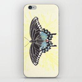 Small Spicebush Swallowtail iPhone Skin