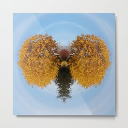 Butterflying Nature Metal Print