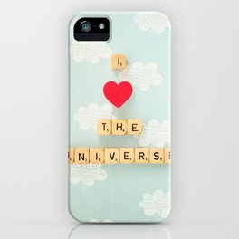 I Heart The Universe iPhone Case