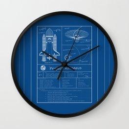 Project Astraeus Wall Clock