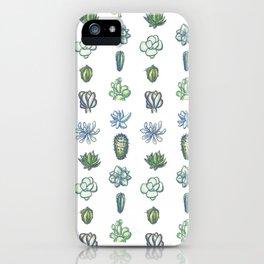 One Dozen Succulents iPhone Case